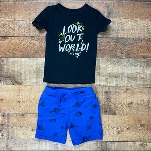 ✨HP✨ Outer Space Galaxy Matching Outfit Set 3/4T